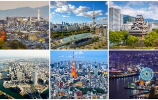 Largest Cities in Japan