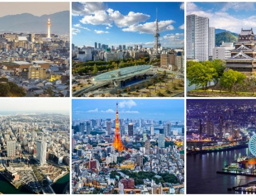 Largest Cities in Japan by population and size