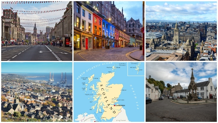 Largest Cities in Scotland – By Size and Population