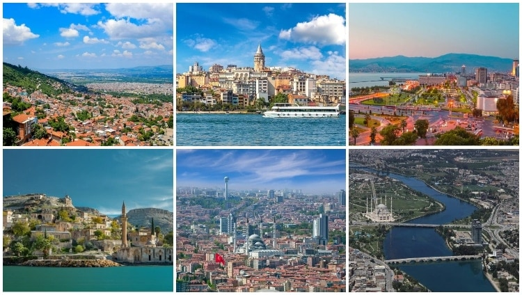 Largest Cities in Turkey
