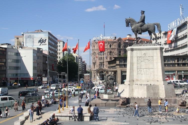 Major cities in Turkey