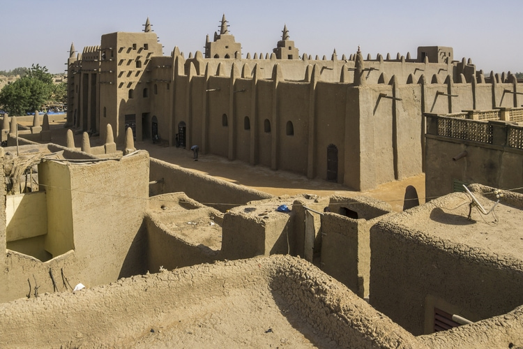 Most famous buildings in Africa