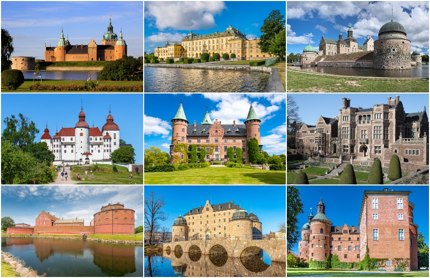 15 Most Beautiful Castles in Sweden