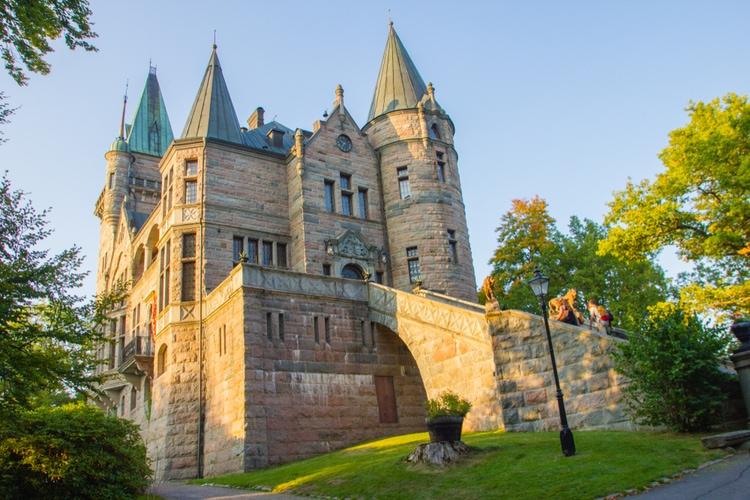 Teleborg castle in Sweden