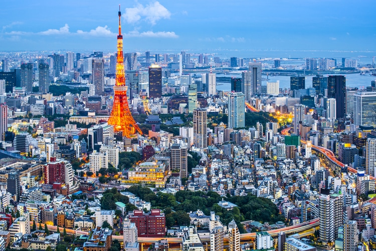 The largest city in Japan