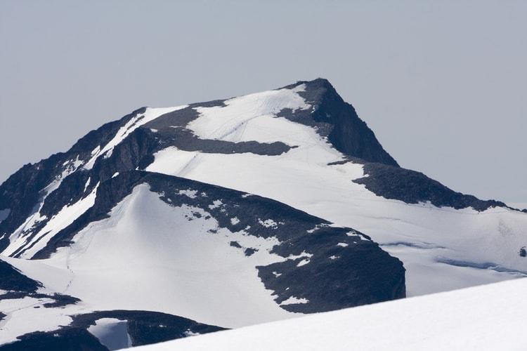 Galdhøpiggen highest mountain in Norway