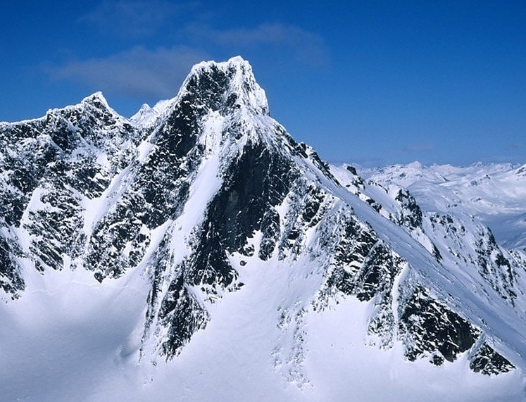 Tallest mountains in Norway