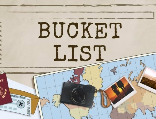 Bucket List – Things to do before you die