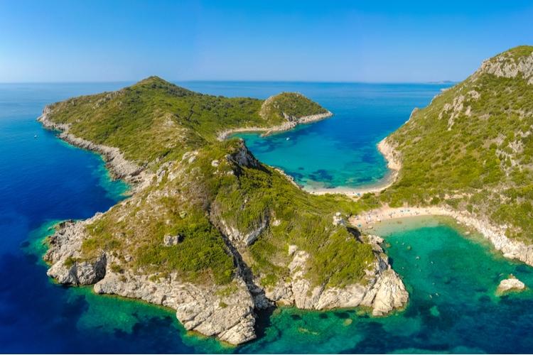 Porto Timoni in Corfu