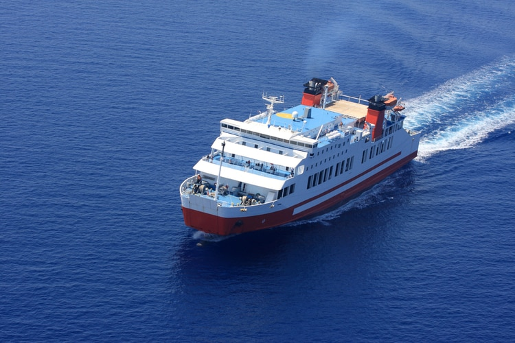 Ferry to Greek Islands