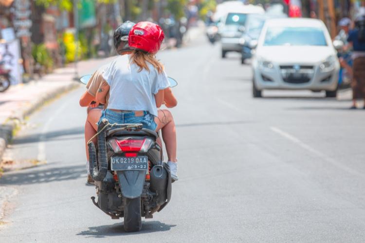Rent a Motorbike in Bali
