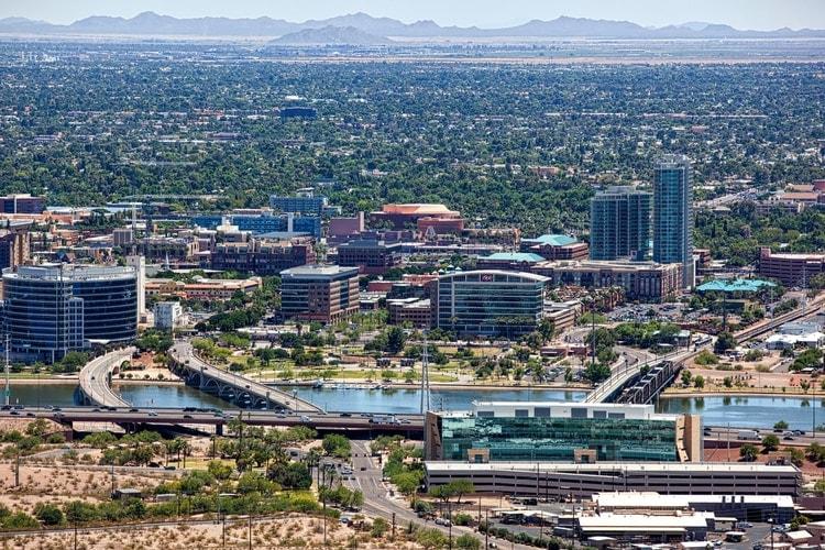 Tempe in Arizona