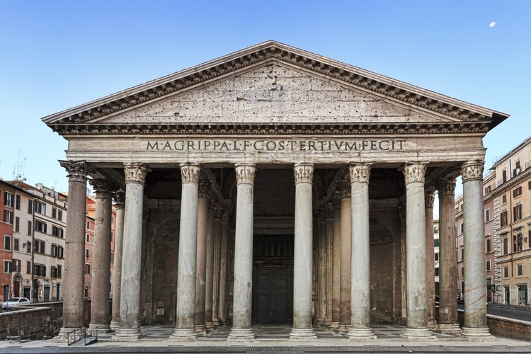The oldest building in Rome