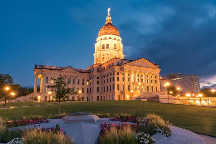 Topeka capital city of Kansas