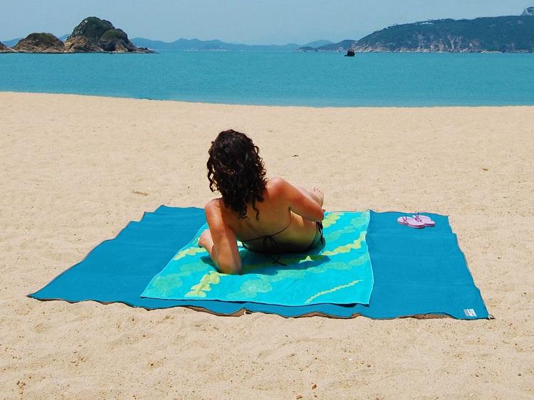 sandfri strandmatta