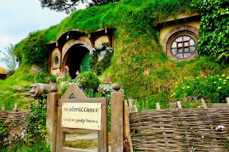 Bilbo Baggins och Frodo Baggins hem i Fylke