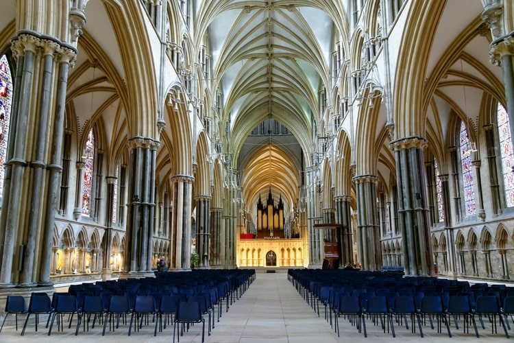 Interior of Lincoln Cathedral
