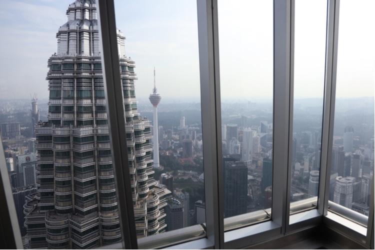 Observation deck en torres petronas