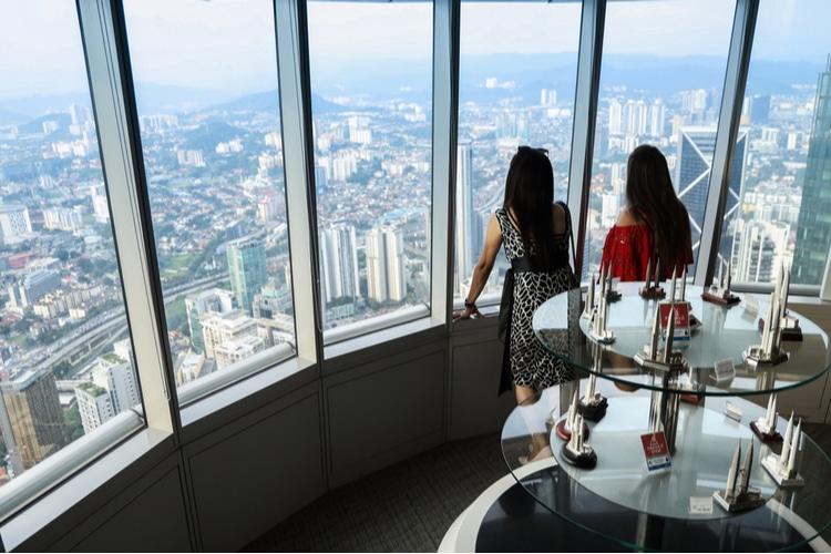 Vista desde Torre Petronas