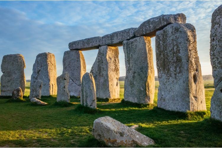 Stonehenge inuti cirkeln
