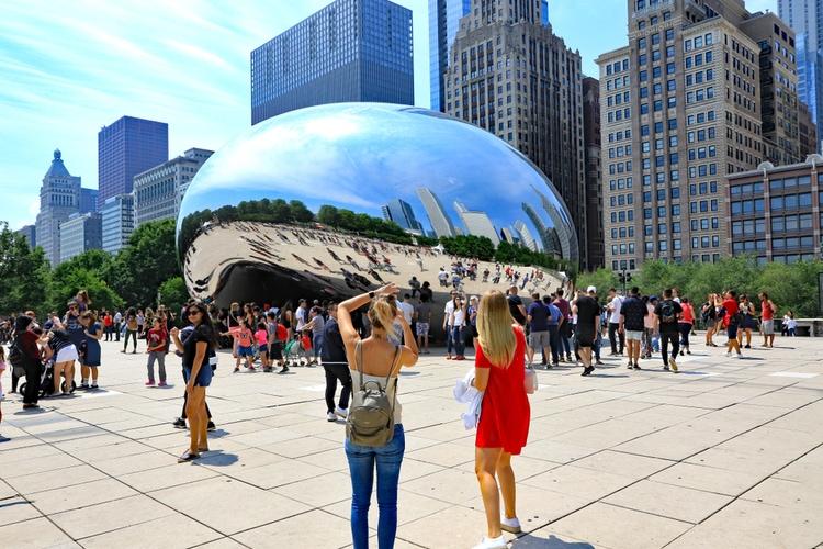 The Bean in Millenium Park