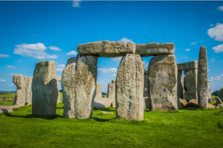 The UNESCO World Heritage Site Stonehenge