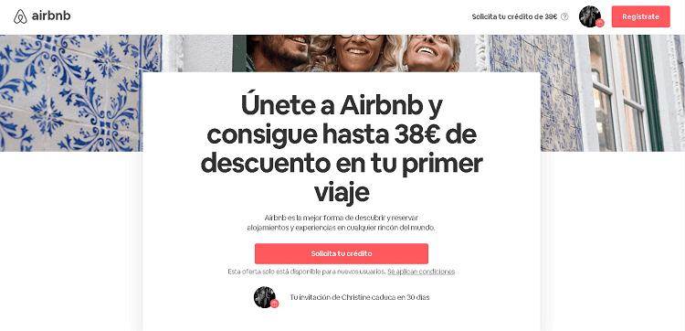 codigo descuento airbnb