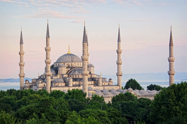 Blue Mosque architecture