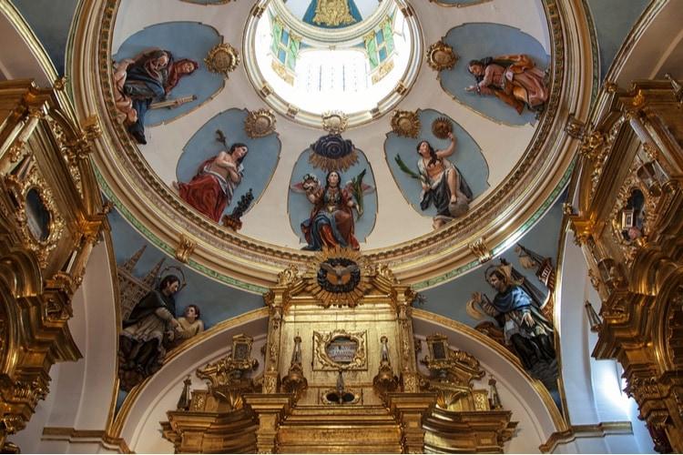 Burgos-katedralen interiör