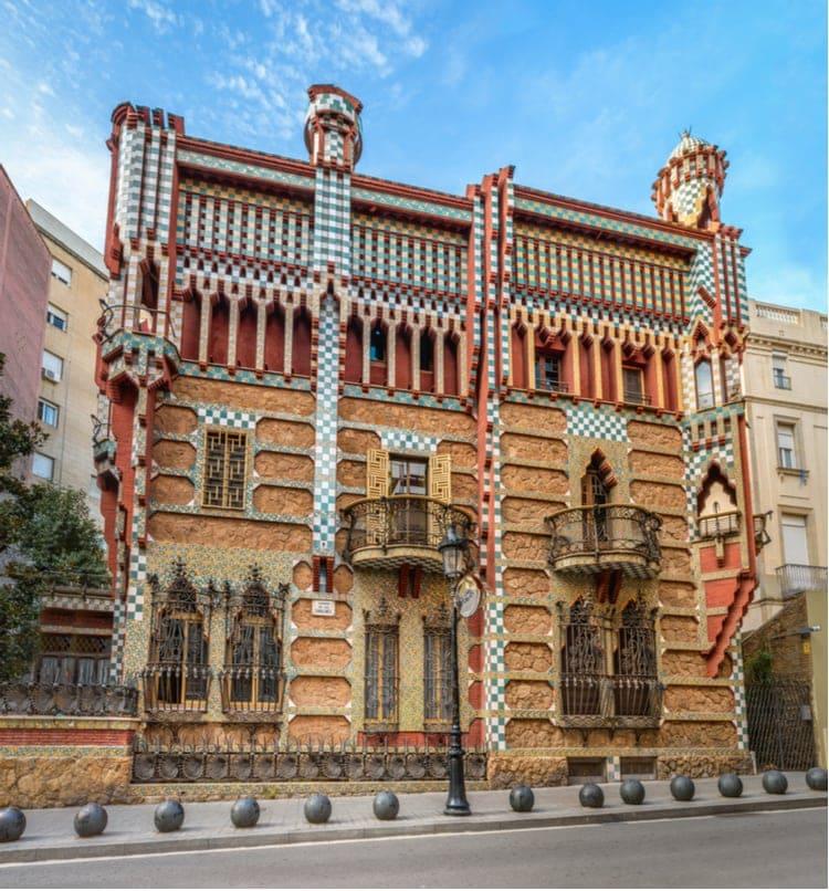 Casa Vicens architecture