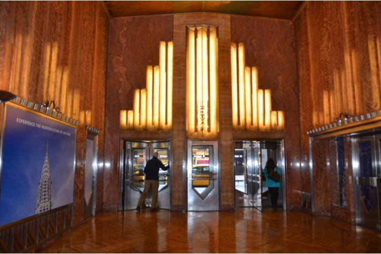 Chrysler Building entrance