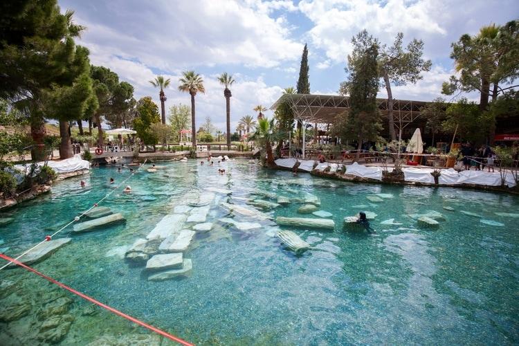 Cleopatra ancient pool