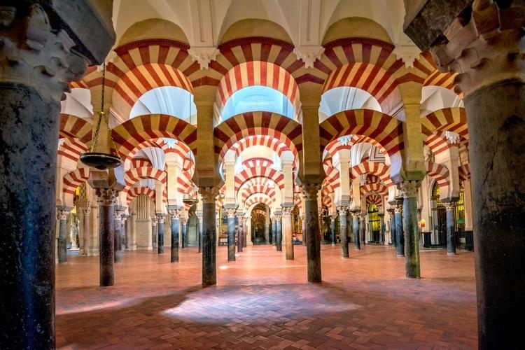 Columns of La Mezquita