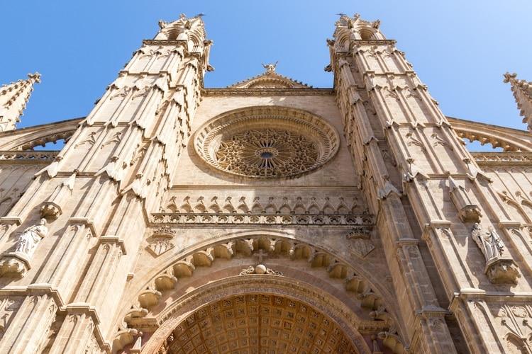 Fasaden på La Seu