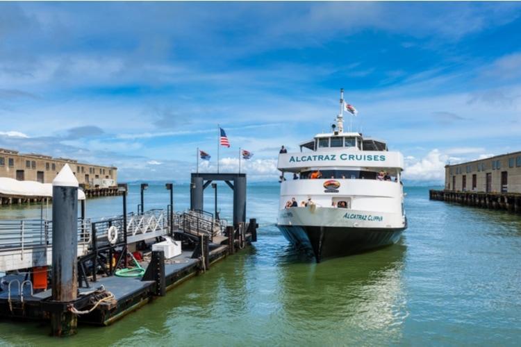 Ferry to Alcatraz island