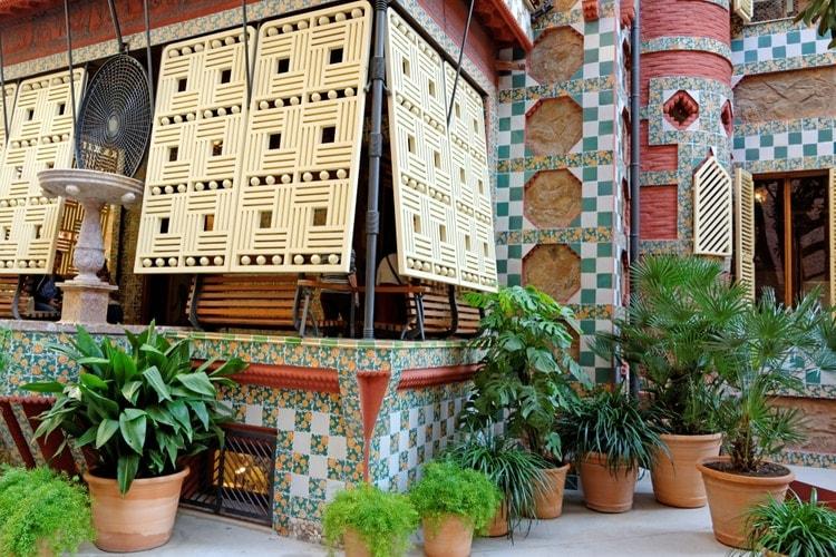 Garden of Casa Vicens