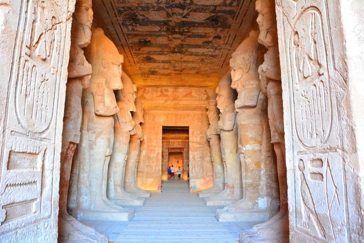 Grand Templo en Abu Simbel