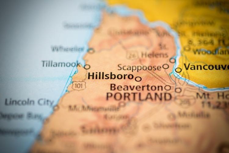 Hillsboro city in Oregon