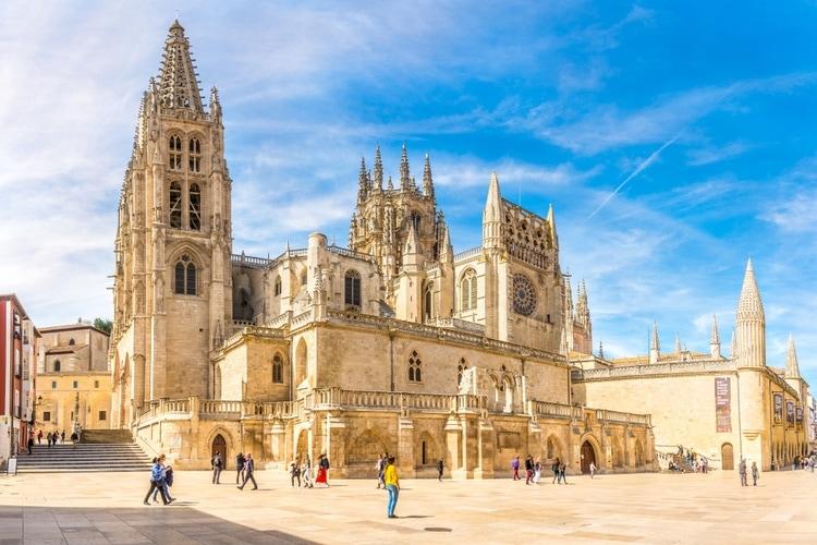 Var ligger Burgos katedralen