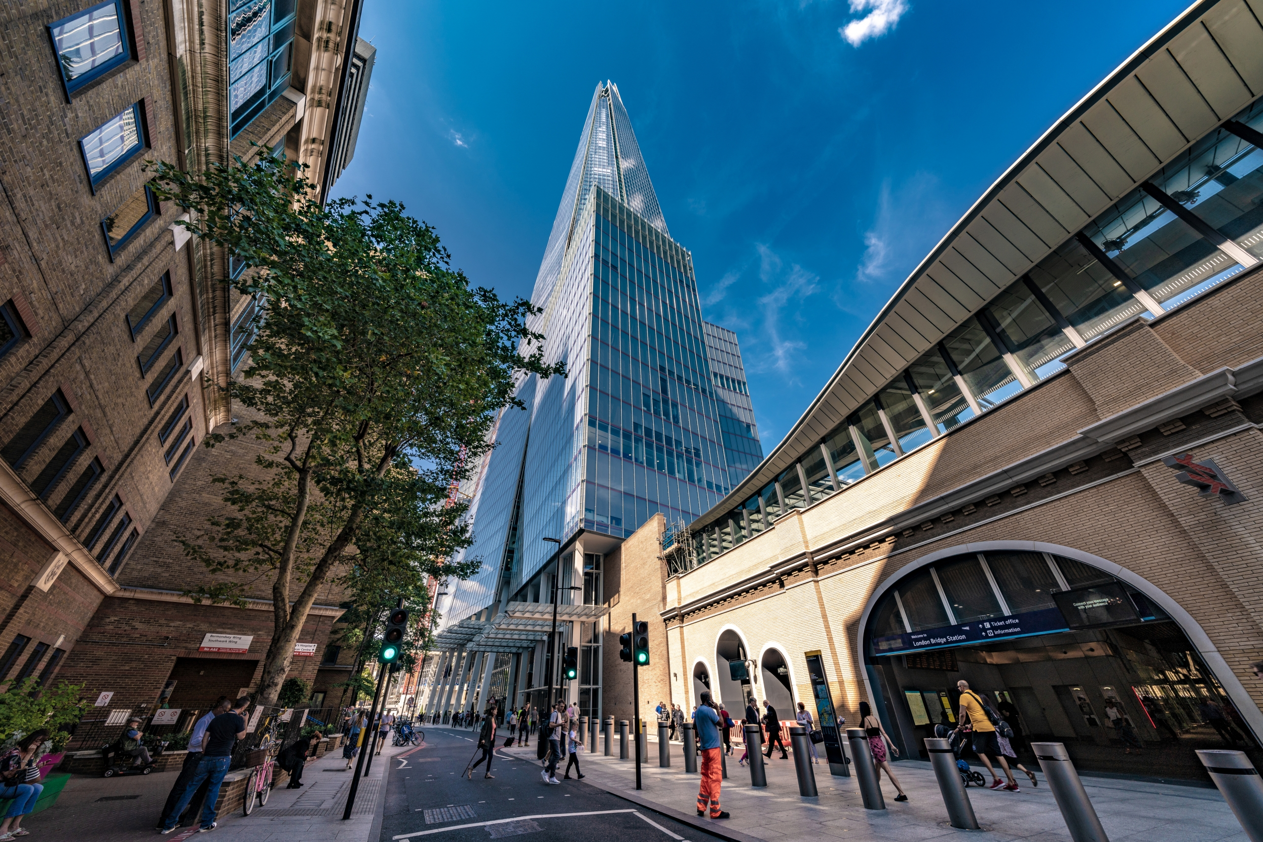 How to get to the Shard