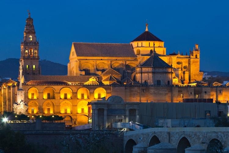 Illuminated Cathedral-Mosque of Cordoba