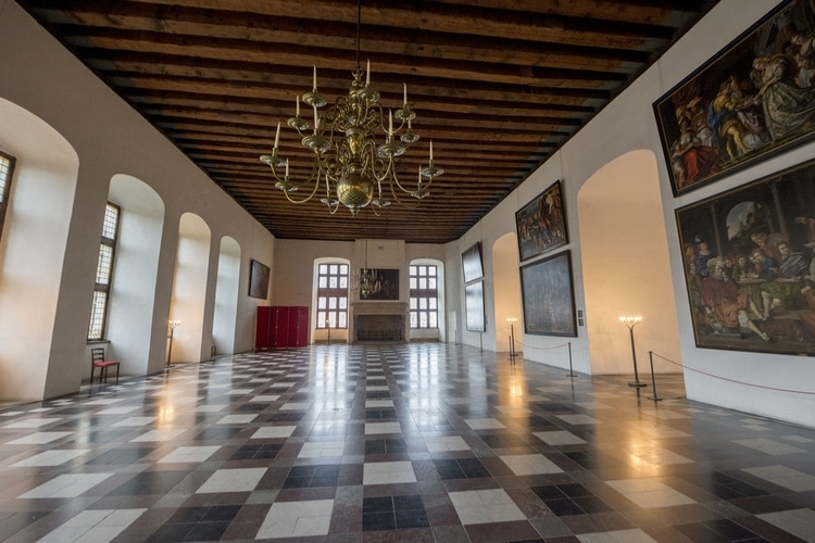 Interior Kronborg Slot