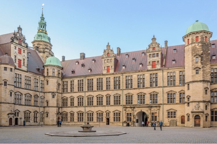 Kronborg Castle in Elsinore
