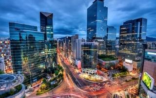 Sydkoreas största städer