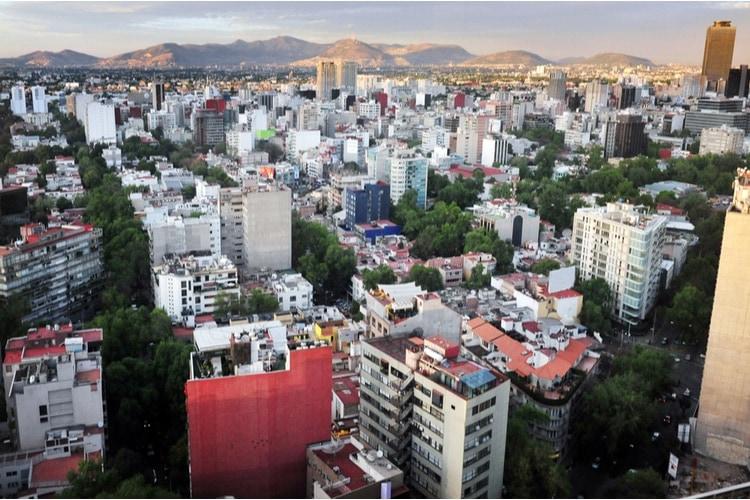 Största städerna i Mexiko