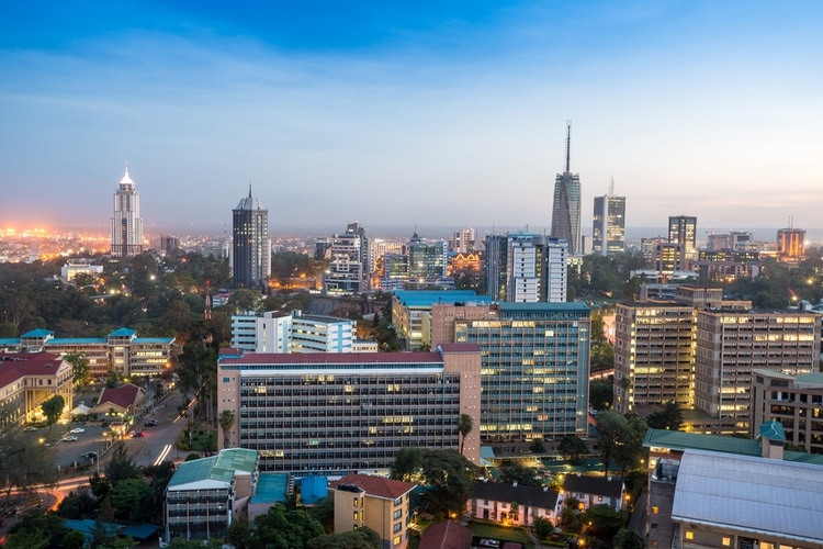 Largest cities in Kenya