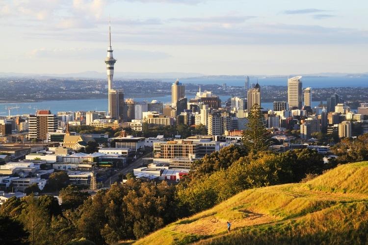 Nya zeelands största städer