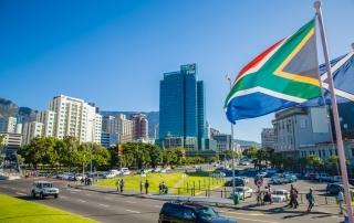 Sydafrikas största städer