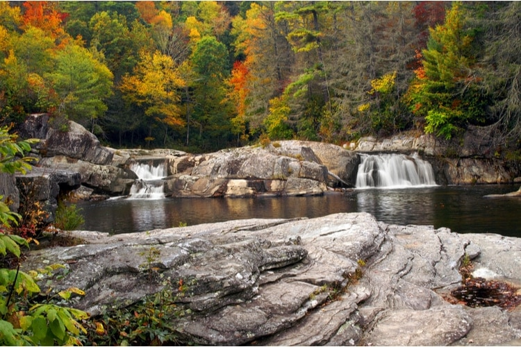 Linville Gorge and Falls