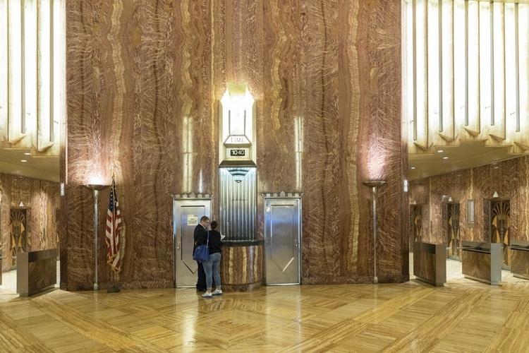 Lobby of Chrysler building
